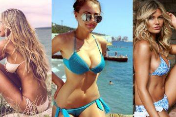 Seven very Sexy Bikini Babes