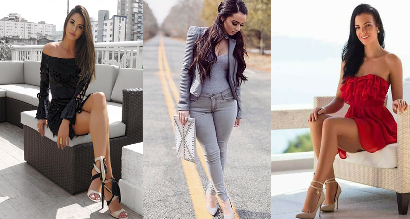 Eight very Sexy Babes from the World of Fashion