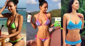 Helga Lovekathy Bikini Shots